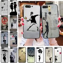 Banksy Albert Banksy Palestina Zachte Telefoon Geval Voor Huawei Honor 5A 7A 7C 8A 8C 8X 9X 9Xpro 9lite 10 10i 10Lite Spelen 20 20Lite