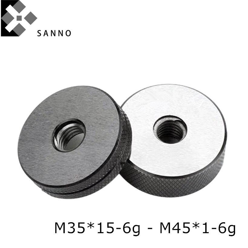 M35 / M36 / M38 / M40 / M42x4.5-6g x4x3x2-6g medidor anillo hilo de precisión métrica liso anillo O indicadores y nogo tornillo gage