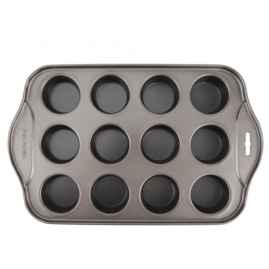 Molde para pastel de Chocolate de acero al carbono, Mini molde redondo para tarta de queso, molde antiadherente para pastel de hornear DIY, utensilios de cocina, plato de cocina