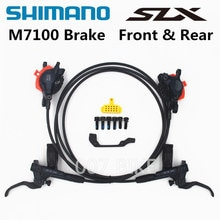 SHIMANO DEORE SLX M7000 M7100 M7120 Bremse Mountainbikes Hydraulische Disc Bremse MTB BR BL-M7000 M7100 800 MM/1500 MM Links & Rechts