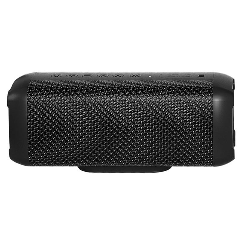 V10 مكبر صوت بخاصية البلوتوث قابل للنقل 80 واط عالي الطاقة لاسلكي باس مقاوم للماء مضخم صوت TWS الصوت AUX TF ستيريو USB