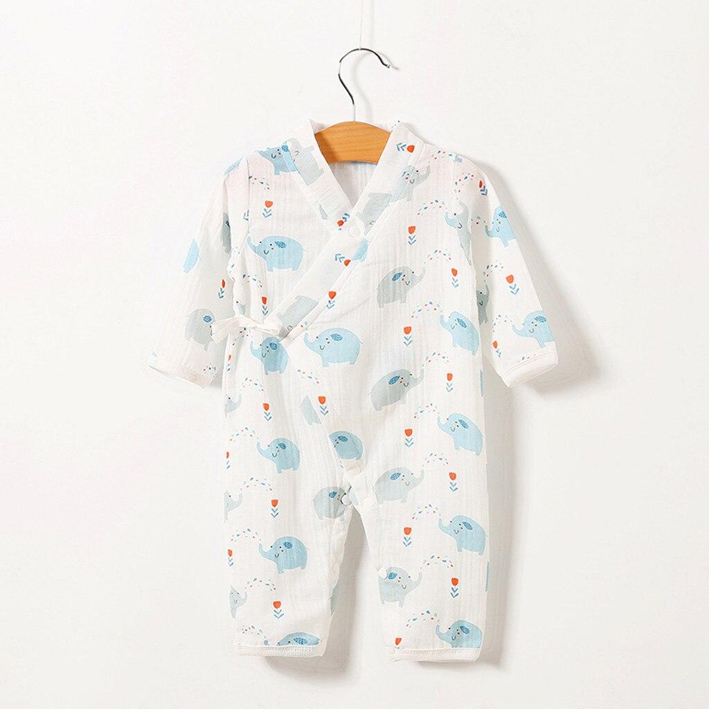 Пижама кигуруми для маленьких мальчиков и девочек милая пряжа с принтом фруктов
