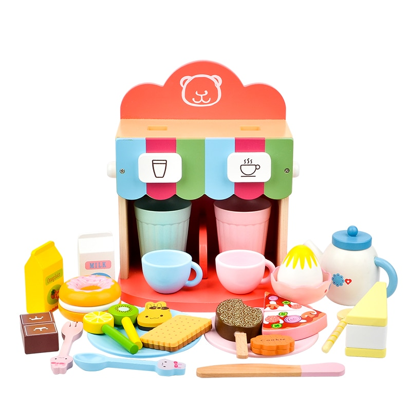 Фото - Toy Woo Wooden Pretend Coffee Maker Afternoon Tea Kitchen Toys Role Play Children's Educational Toys Girls and Boys fun boys girls mini telephone developmental toy role play pretend toy communication equipment