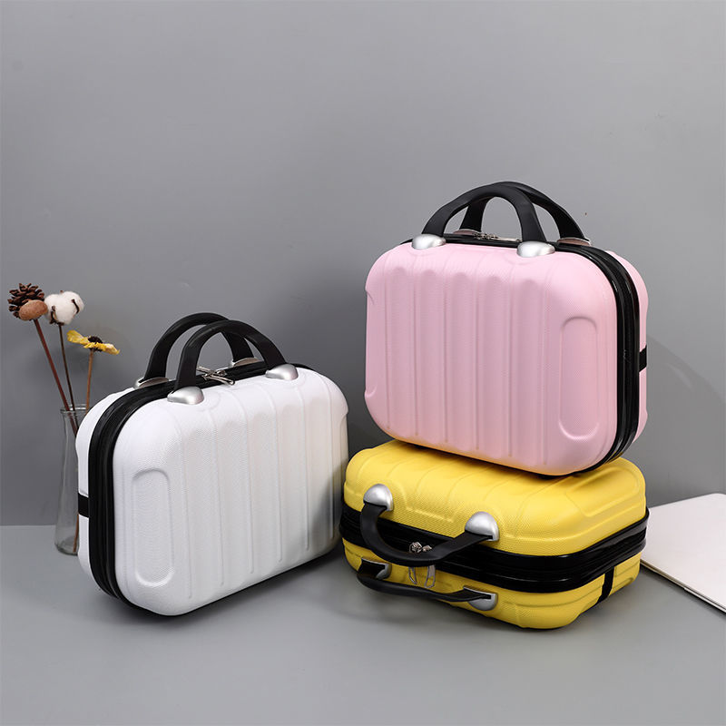 2021 new fashion make-up bag 14 inch small suitcase can be hung trunk Trolley Case accessories storage box 16 inch