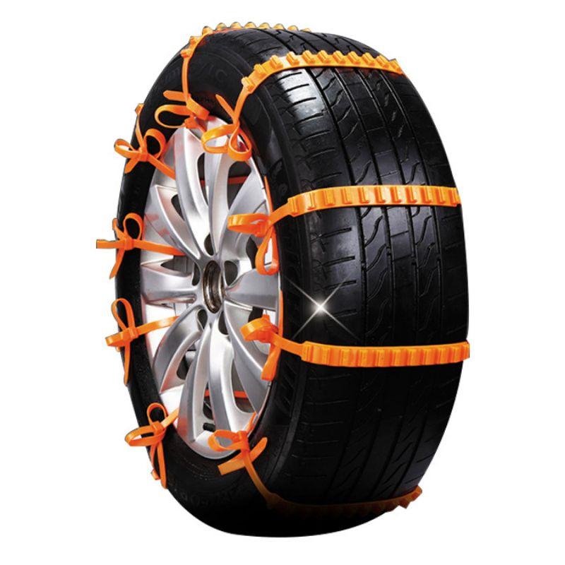 Neumáticos de invierno de plástico para coche cadenas de nieve para coche SUV antideslizante Universal de alta calidad Autocross cadenas de neumáticos para exteriores