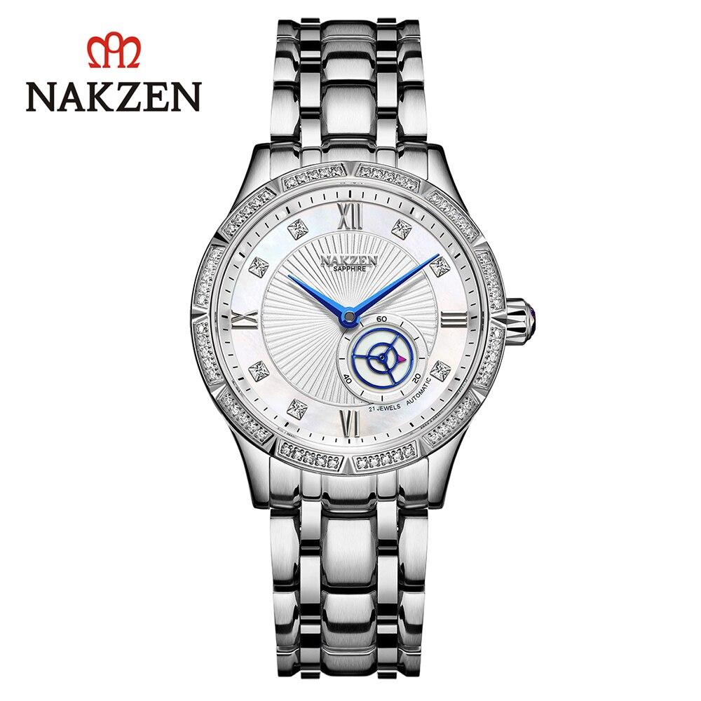 Women Watches Women Luxury Fashion 2021 Sapphire Crystal Designer Gift Ladies Watch Mechanical Automatic Wristwatch Montre Femme enlarge