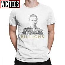 Hommes milliards Bobby Axe Axelrod t-shirt billard face Wendy puissance Tv argent richesse coton vente en gros t-shirt