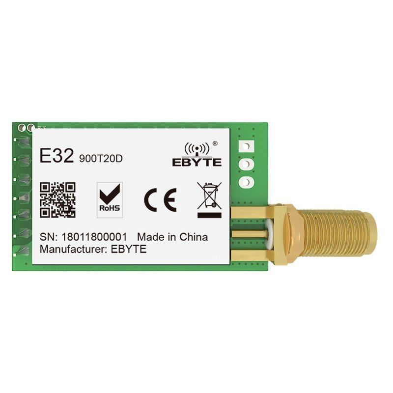 10PCS SX1276 LoRa Spread Spectrum Wireless Transceiver 20dBm 862-931MHz CDEBYTE E32-900T20D UART DIP 5500m SMA-K Long Range IoT
