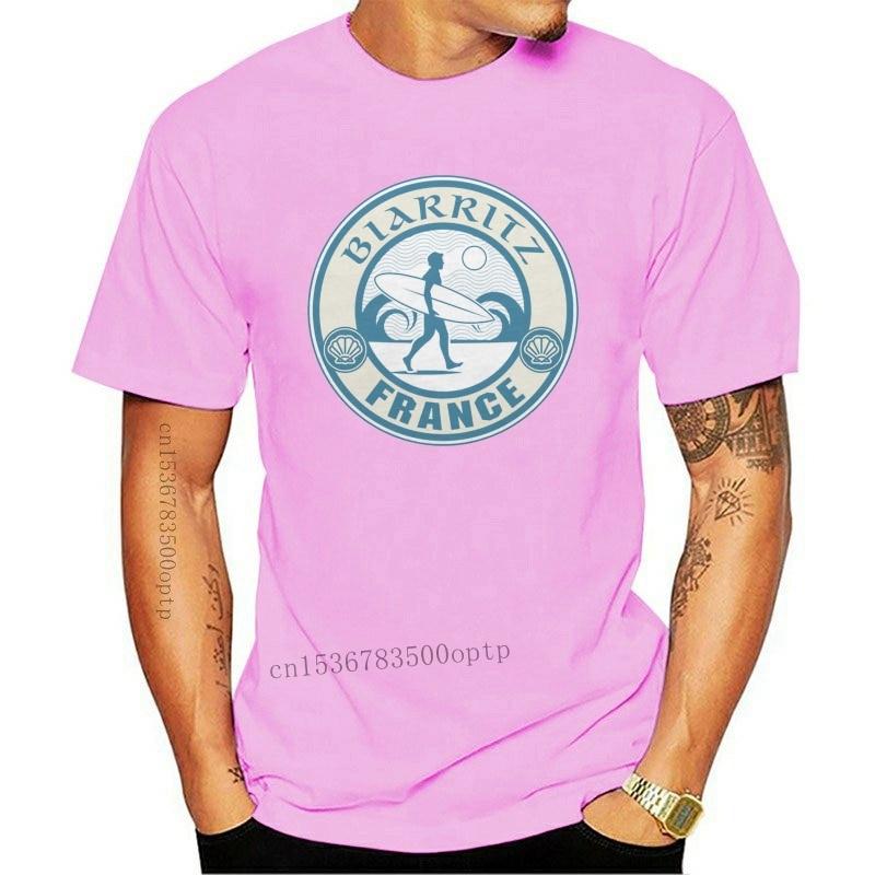 New 2021 Summer Fashion Hot Biarritz France Design T-Shirt - Men's Fathers Day Christmas #9244 Tee shirt