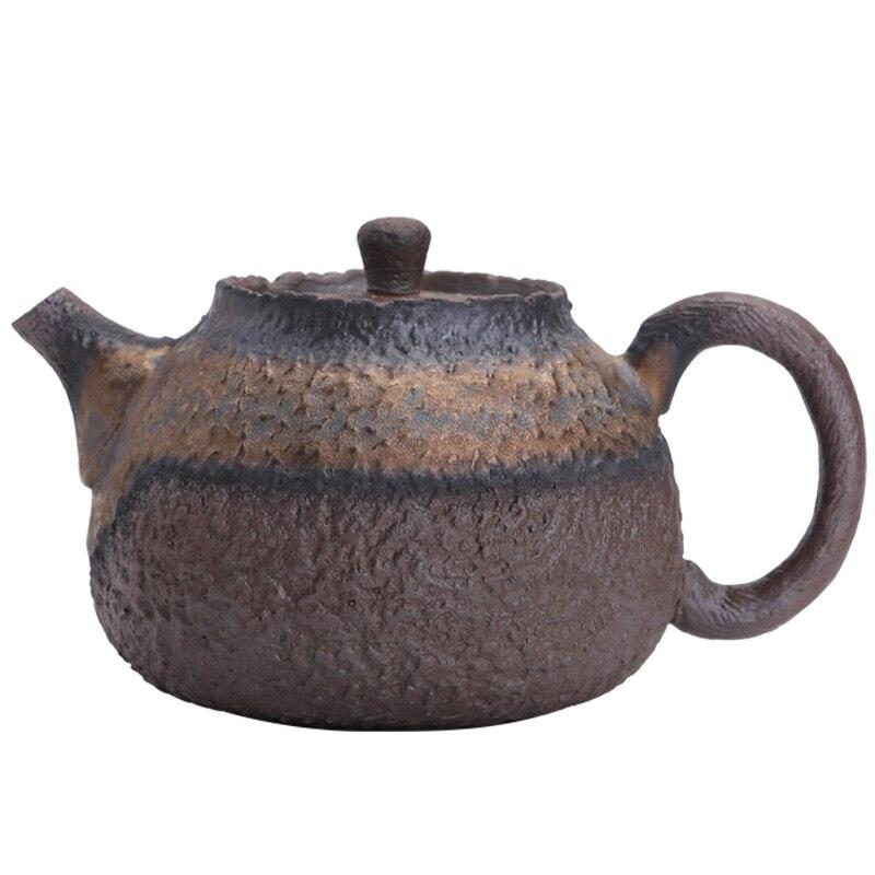 Tetera de té Vintage hecha a mano, hervidor de té de grano...