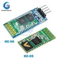hc 05 hc 05 hc 06 hc 06 rf wireless bluetooth transceiver slave module rs232 ttl to uart converter and adapter for arduino