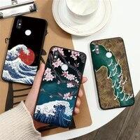 3D Rilievo Coque Per Funda Xiaomi Redmi Nota 9 8 Pro 9 S 8T 5 6 7 Mi A3 a1 A2 6X 8 9 SE 10 Lite 9T Pro CC9 CC9e F1 Cassa Del Fiore TPU