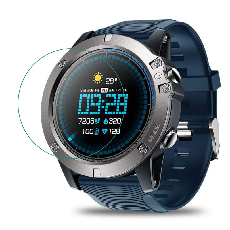 Reloj de cristal templado película protectora transparente para Zeblaze VIBE 3 Pro reloj inteligente pantalla LCD Protector de pantalla