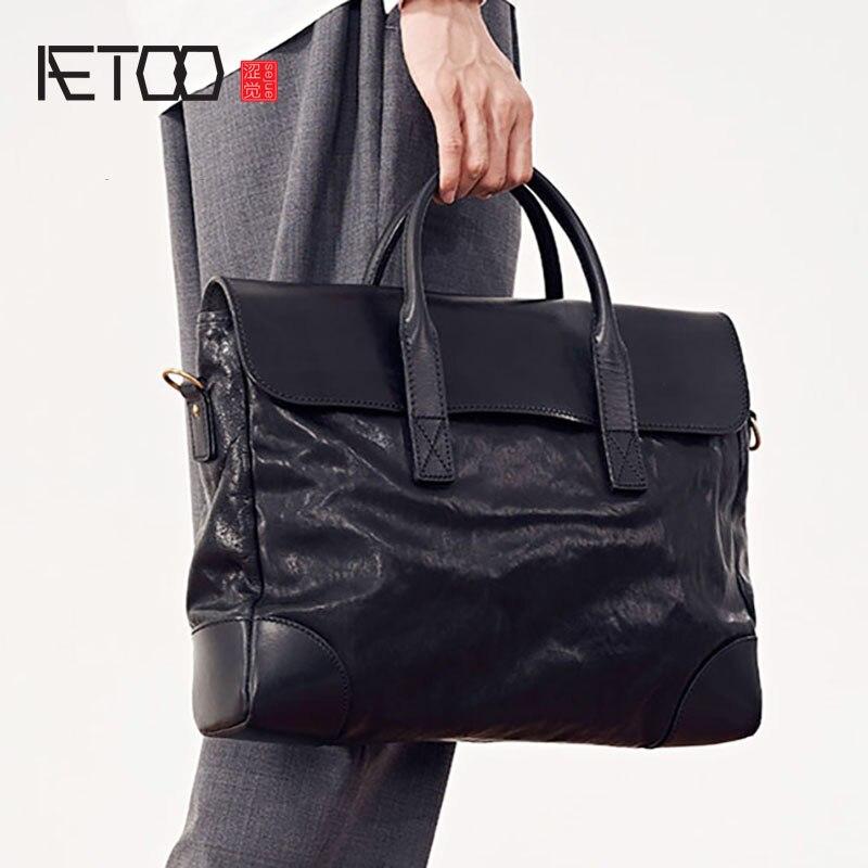 إيتوو حقائب الرجال ، حقائب الكمبيوتر ، الرجال سعة كبيرة الأعمال حقيبة ساع جلدية ، حقائب سفر الأعمال