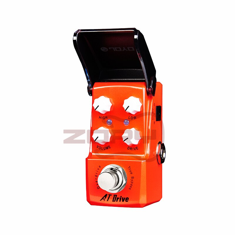 JOYO JF-305 AT Drive Guitar Effect Pedal Creamy and Bluesy Overdrive True Bypass Effects Guitar Pedal Guitar Accessories
