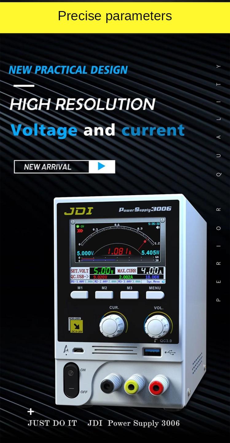 30V 6A Multi port Maintenance Power Supply 110V 220V Intelligent Voltage Stabilized Ammeter FOR IPhone IPAD enlarge
