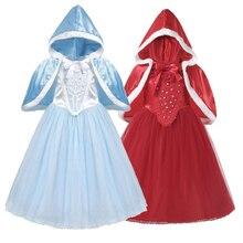 Cendrillon princesse filles robe enfants robes pour filles noël habiller Costume fête robe de bal fille robe de noël