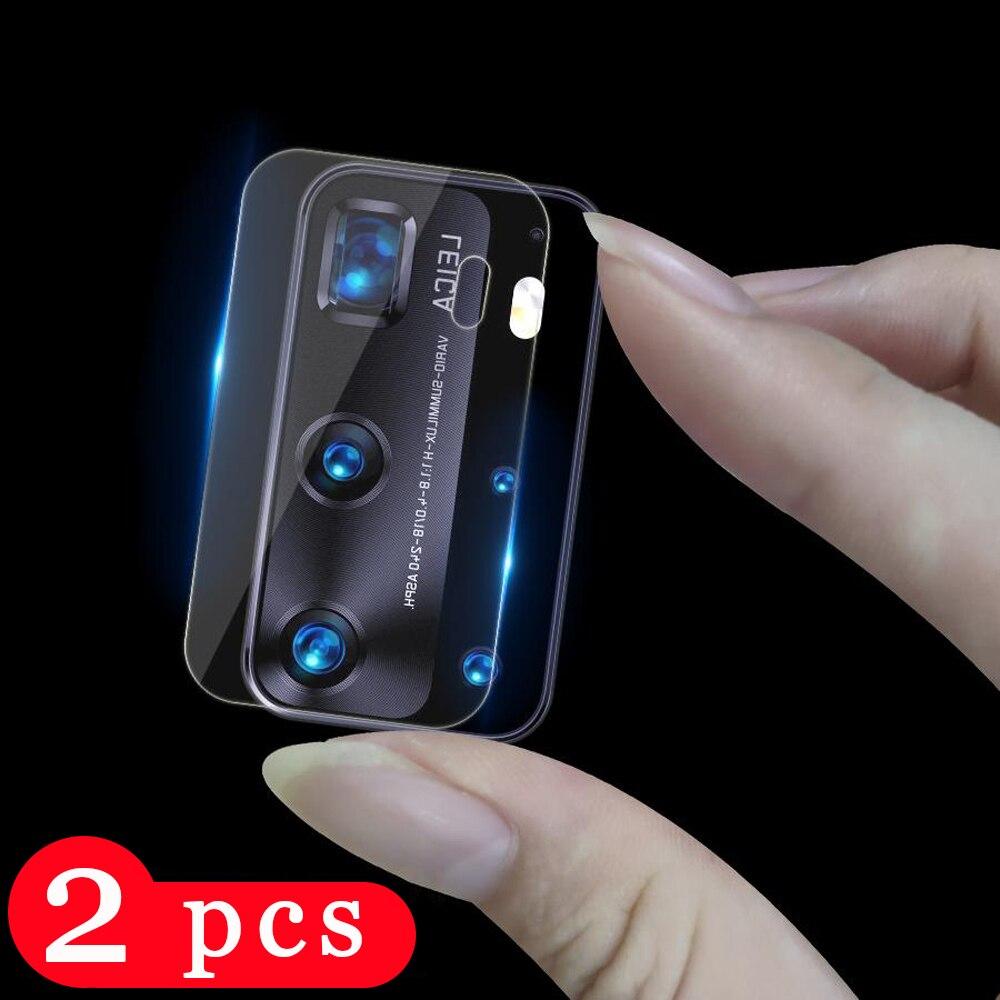 2 pçs filme de lente para huawei p20 p30 p40 pro lite e protetor de tela para huawei p40 pro plus câmera protetor lente da câmera de vidro