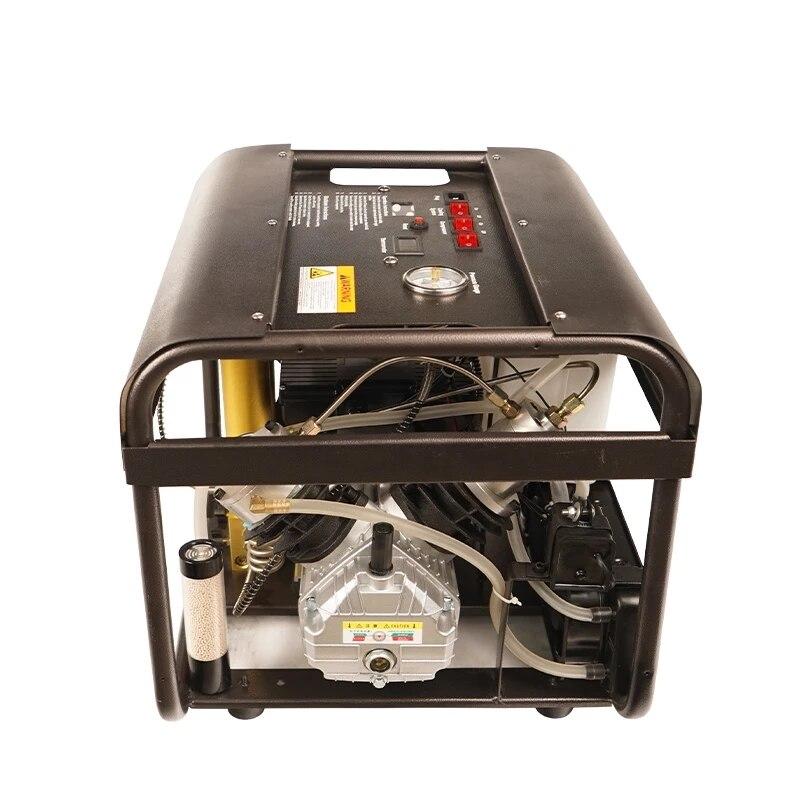 TUXING 4500PSI 300Bar PCP ضاغط الهواء مضخة عالية الضغط السيارات وقف المدمج في تصفية مياه التبريد لخزان بندقية الغوص الغوص