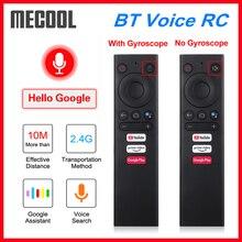 Пульт ДУ Mecool с голосовым управлением и гироскопом для Android TV Box Mecool KM1 KM3 KM6 KM9 Pro Google Voice