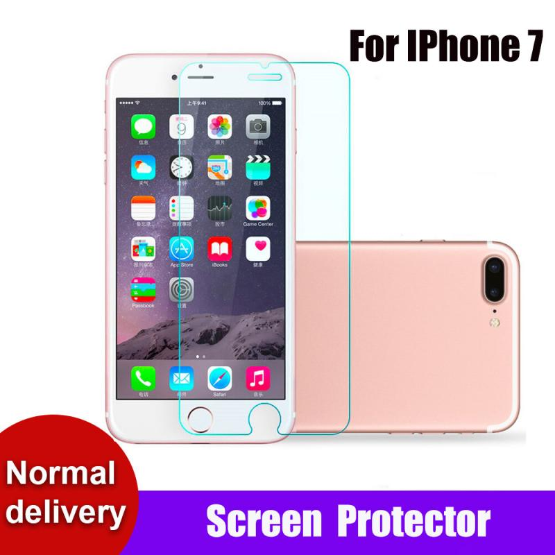 For IPhone 7 Mobile Phone Tempered Glass Screen Protector Scratch-Proof Anti-Shatter Screen Protecti