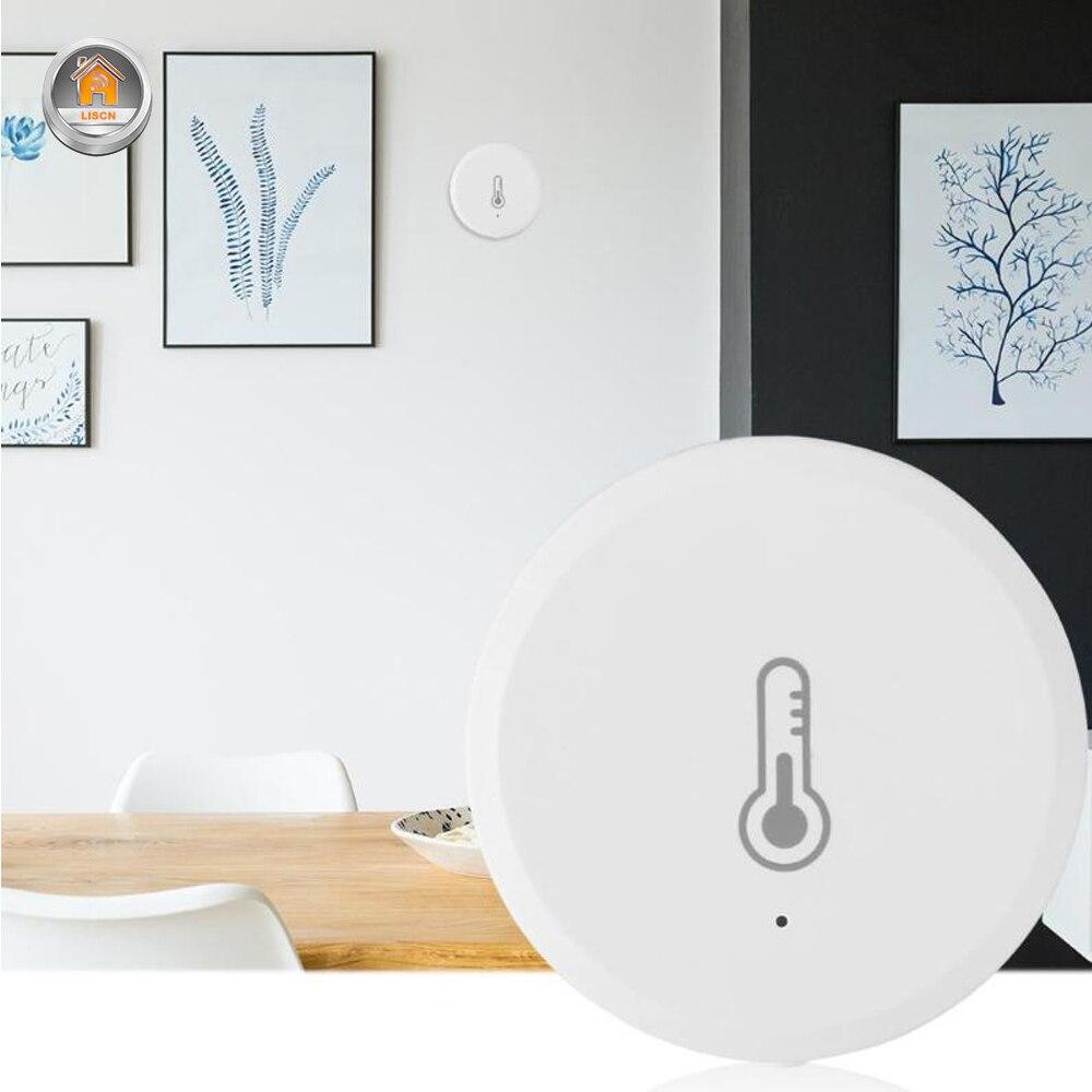 واي فاي الذكية مستشعر درجة الحرارة والرطوبة البيئة ضغط الهواء التحكم اللاسلكي Mihome APP زيجبي اتصال المنزل الذكي