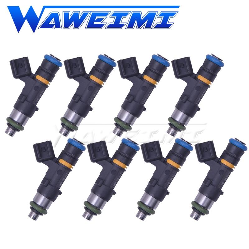 WAWEIMI 8x inyector de combustible de alto flujo 1000cc OE 0280158117 para Volkswagen Golf con 1,8 T 20V Turbo motor 2000 -2005