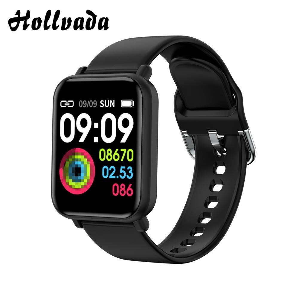 R16 Smart Horloge IP68 Waterdichte Smartwatch Hartslag Bloeddrukmeter Fitness Tracker Mannen Vrouwen Smart Armband Pk B57 B58