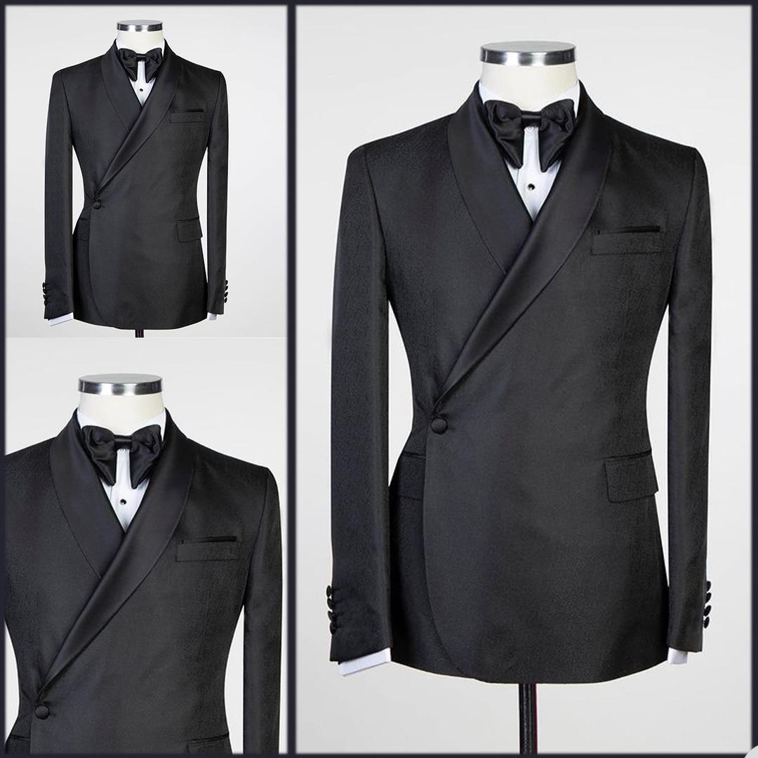 وسيم خمر الرجال البدلات الرسمية شال طية صدر السترة زر واحد جيب مخصص الدعاوى الزفاف حزب رفقاء سترة 1 قطعة مجموعة