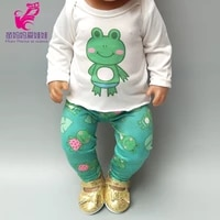 doll dress for 17 inch 43cm baby doll pink dress clothes for 18 inch america girls doll dress dropshipping
