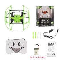 Helic Max Sky Walker 1336 Mini Drone bola 2,4 GHz 4CH bola RC Quadcopter 3D Flip de sin cabeza RC Drone helicóptero Juguetes