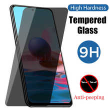 9D Privacy Tempered Glass For Redmi Note 10 Pro 9 8 7 T Anti Spy Peep Screen Protector For Redmi Note 10 9 8 7 S Pro K30 K40 Pro