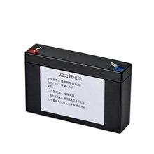 6V 4.5AH Bateria de Iões de Lítio Recarregável para Backup de Energia de emergência LEVOU Luz Brinquedo Das Crianças Do Carro Substituição do Acumulador
