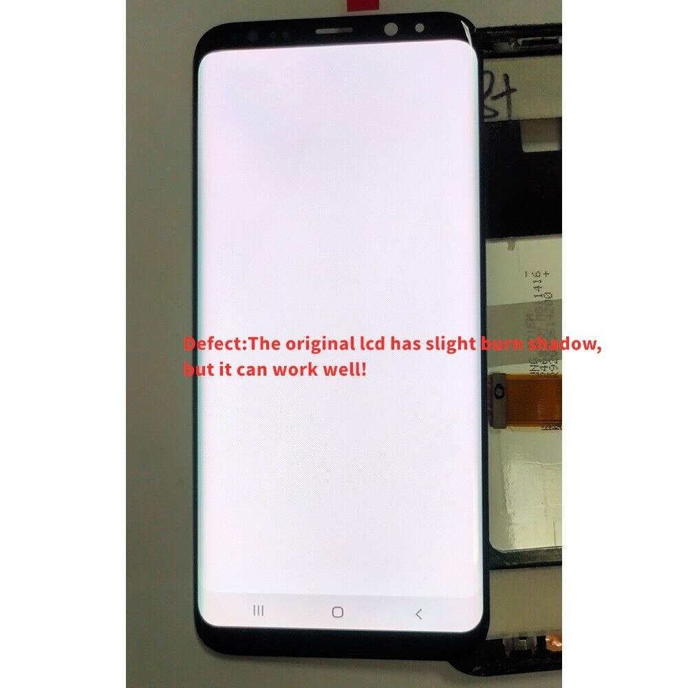 The original S9 Plus LCD display for Samsung Galaxy S9+ G965 G965F S9 PLUS G965fg LCD touch screen digitizer is defective enlarge