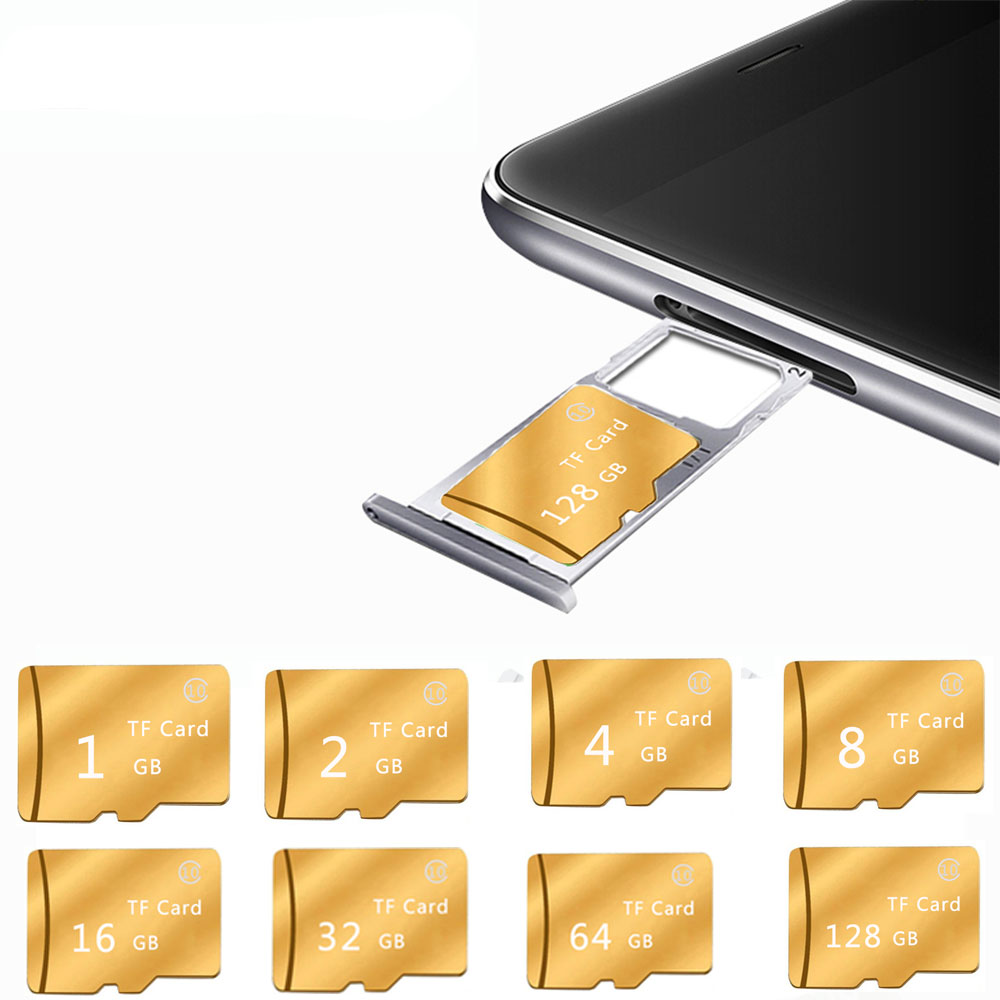 memory card 128GB 64GB 32GB high speed Class 10 flash 16GB 8GB 4GB 2GB 1GB microsd TF/SD for PC camera/mobil