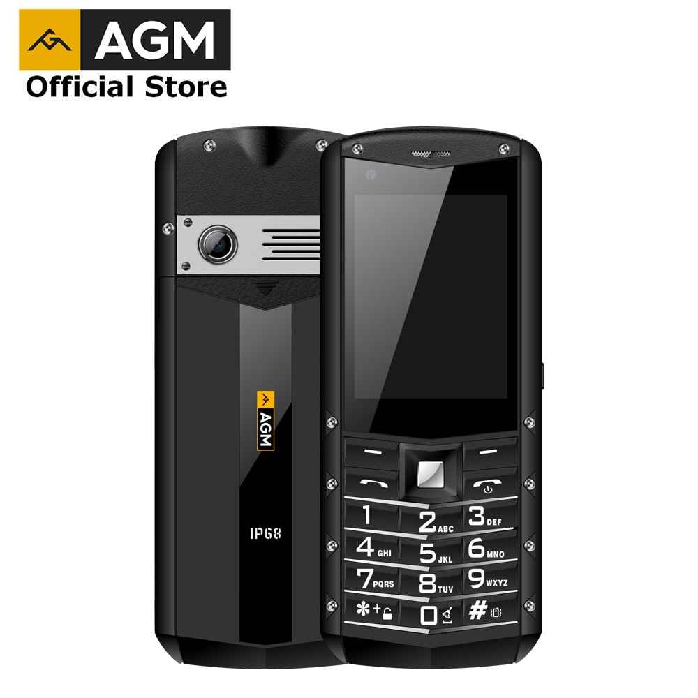 Перейти на Алиэкспресс и купить AGM M5 упрощенный ОС Android Особенности телефона 4 аппарат не привязан к оператору сотовой связи Тип C сенсорный Экран IP68 прочный мобильный телеф...