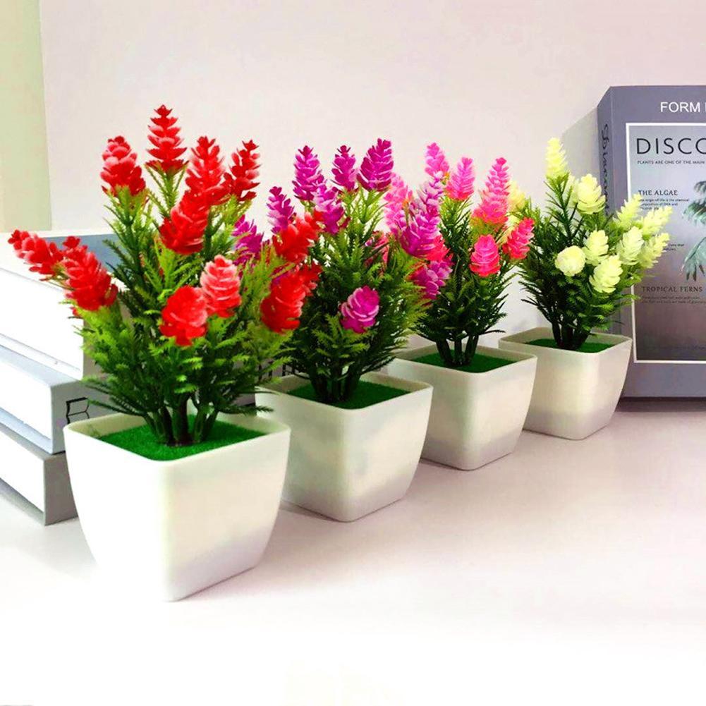 1 pieza Artificial de cono de pino planta Miniascape boda fiesta hogar bonsái de mesa Decoración