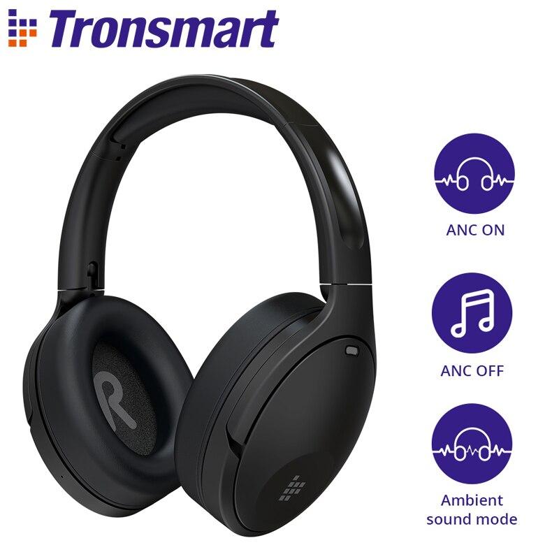 Tronsmart Apollo Q10 auriculares híbridos con cancelación activa de ruido con altavoz...