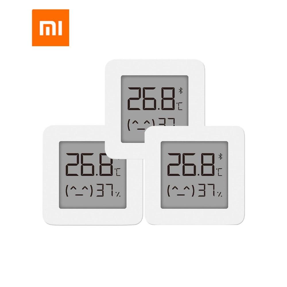 Bundled Sale Xiaomi Smart LCD Screen Digital Thermometer 2 Mijia Bluetooth Temperature Humidity Sens
