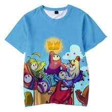 Herbst Jungs ultimative Knockout 3D kinder T-shirt Jungen und mädchen Neue Beiläufige Kleidung Harajuku Kühlen Kurzen Ärmeln kind t-shirts
