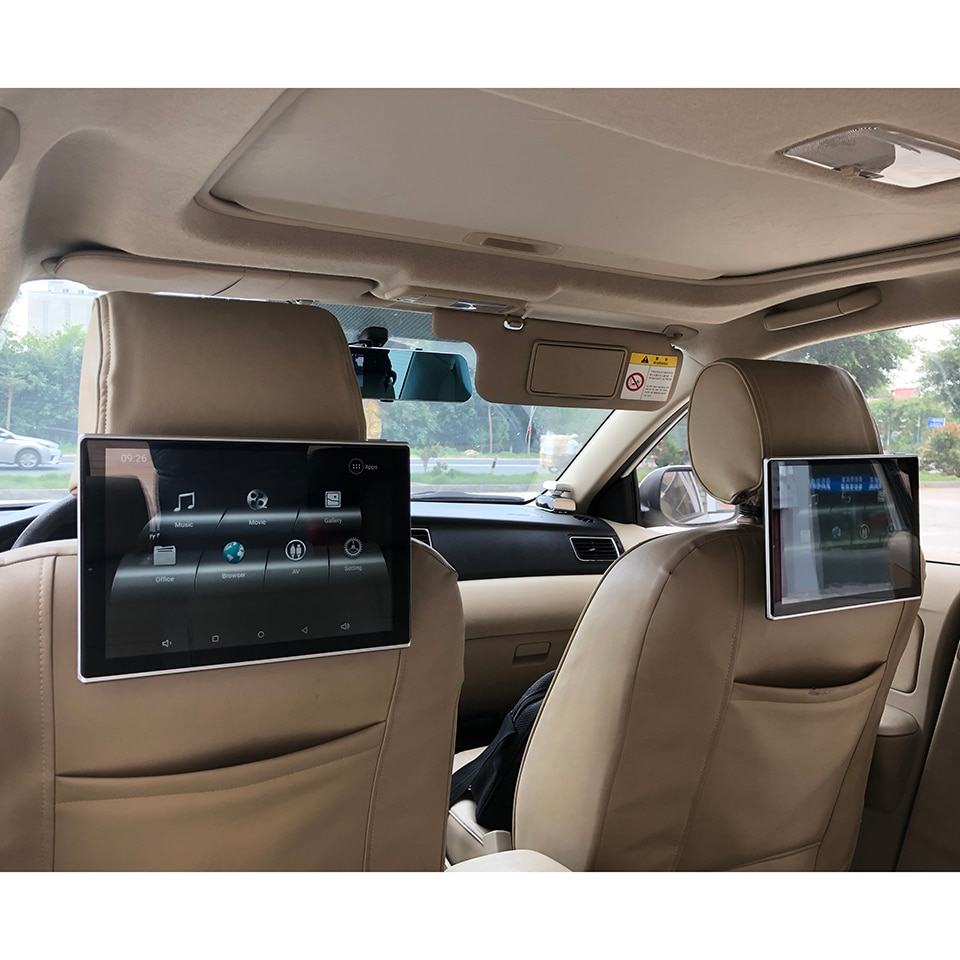 2020 New Latest Best Android 9.0 System 11.8 Inch Car Headrest Monitor For Lexus LX 570 Rear Entertainment System