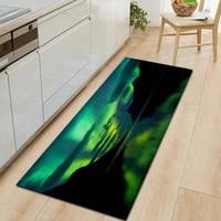 the universe non slip entrance doormat kitchen mat 3d pattern home living room carpet multi purpose decorative bathroom rug