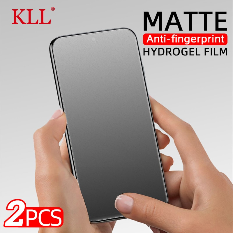 aliexpress.com - 2Pcs Matte Screen Protector For OPPO Find X2 Neo Reno 4 Lite Hydrogel Film for Realme 8 6 7 X2 X50 XT X3 Q2 Pro GT Neo  no Glass