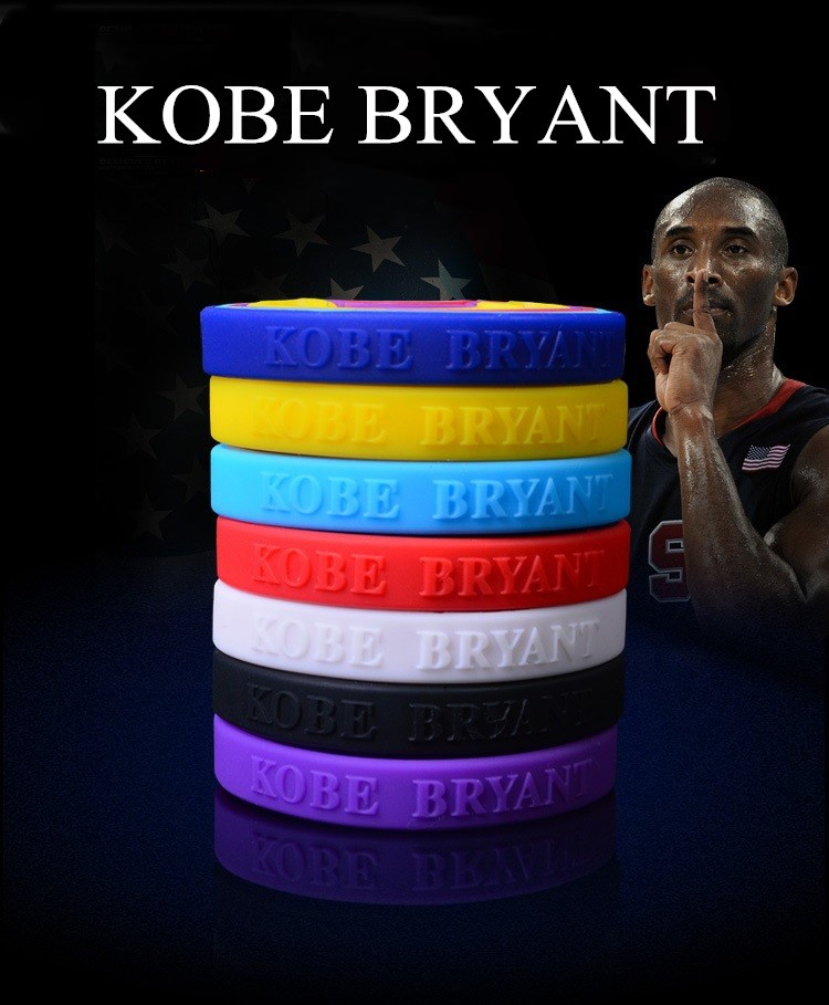 1 stück Armband Basketball gummi Armbänder machen Gummi Armreifen silica gel hand kreis pulsera silicona