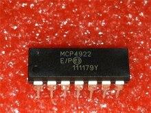 5 pcs/lot MCP4922-E/P DIP-14 MCP4922 DIP14