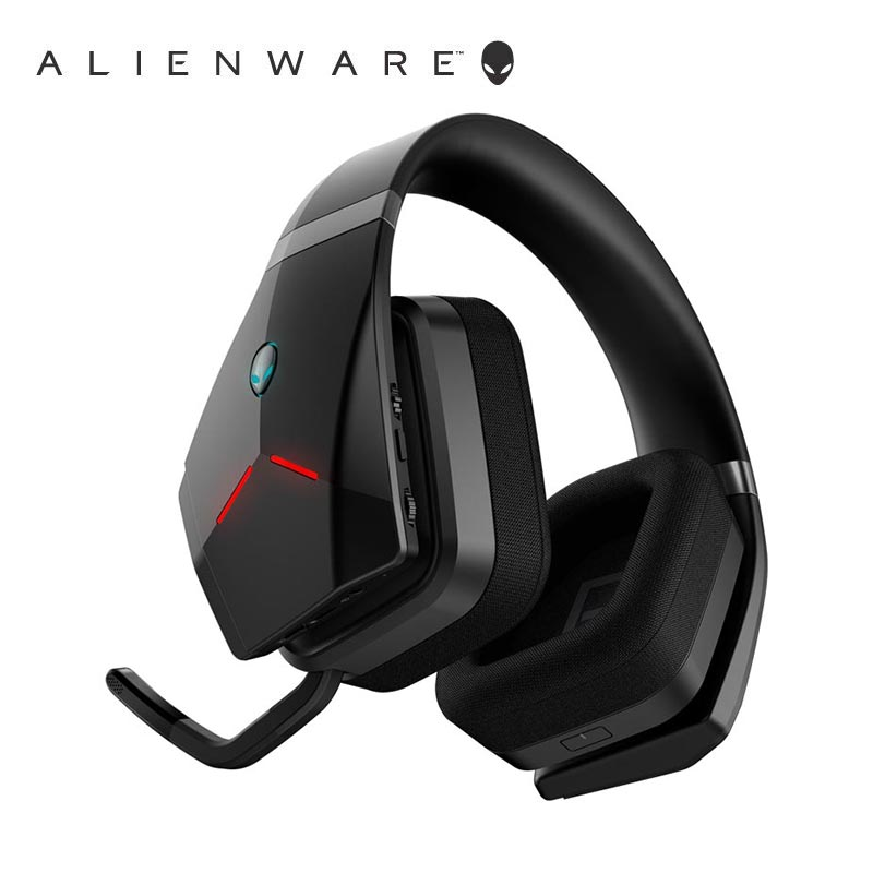 Dell Alienware AW988 RGB 7.1 سماعة الألعاب المحيطية-(لا يوجد جهاز استقبال USB/سلكي فقط)