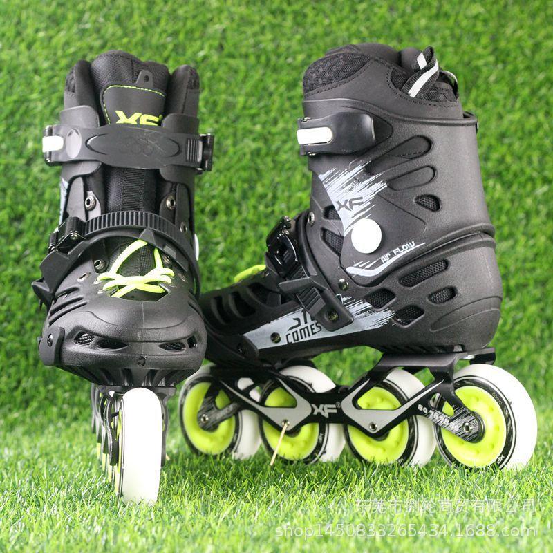 Черные Профессиональные роликовые коньки, ботинки Heelies колесики роликовых коньков Shoes, Четырехъядерные коньки, ботинки Skeelers, спортивное обо...