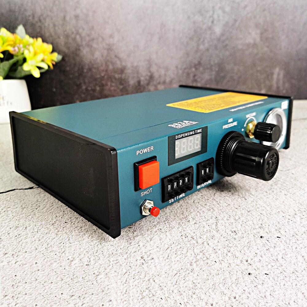 Fluid Dispenser Tools Machine Auto Glue Dispenser Solder Paste Liquid Controller Fluid Dropper 220V 983A Glue Dropper Solder enlarge