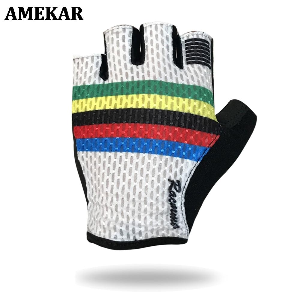 Breathable Cycling Gloves Road Bike Gloves Men Sports Half Finger Anti Slip Bicycle MTB Road Bike Gloves breathable cycling gloves road bike gloves men sports half finger anti slip bicycle mtb road bike gloves