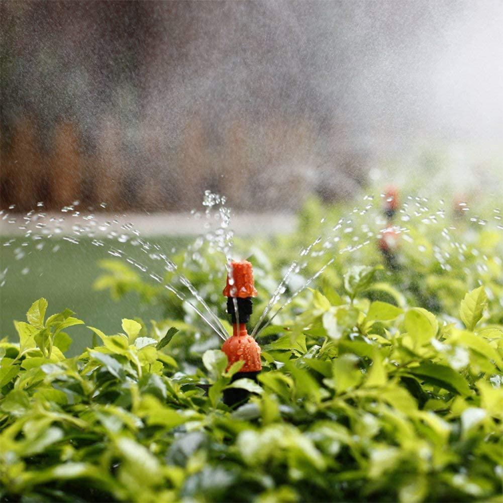 10 шт. капельного орошения сада распыления воды капельный спринклер капельного Системы потока капельницы мм 4/7 для полива и орошения головка...